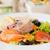 Seattle · zöldségek · tengeri · hal · edény · brokkoli · spárga - stock fotó © ivonnewierink