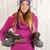 女性 · 冬 · 氷 · スケート · 肖像 · 帽子 - ストックフォト © ivonnewierink