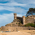 castillo · espanol · costa · playa · edificio · naturaleza - foto stock © ivonnewierink