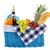 picnic basket with healthy food stock photo © ivonnewierink