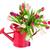 красочный · букет · тюльпаны · красивой · изолированный · белый - Сток-фото © ivonnewierink