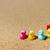 синий · воды · три · птица · куриные · утки - Сток-фото © ivonnewierink