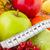 frutas · naturaleza · muerta · naturaleza · salud · fresa · uvas - foto stock © ivonnewierink