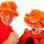 holland · narancs · futball · apa · fia · szurkolók · sport - stock fotó © ivonnewierink
