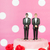 wedding cake with gay couple stock photo © ivonnewierink