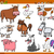 farm animals set cartoon illustration stock photo © izakowski