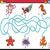 labirinto · tarefa · crianças · desenho · animado · ilustração - foto stock © izakowski