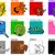 hoofd- · kleuren · cartoon · collectie · illustratie · primair - stockfoto © izakowski