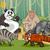 mammals animals cartoon illustration stock photo © izakowski