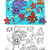 sea life group coloring page stock photo © izakowski