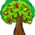 apple tree cartoon illustration stock photo © izakowski