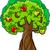 almafa · ág · gyümölcs · kicsi · zöld · almák - stock fotó © izakowski