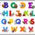 cartoon · alphabet · enfants · illustration - photo stock © izakowski