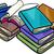 heap of books cartoon illustration stock photo © izakowski