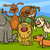 karikatür · sevimli · Evcil · hayvanlar · ayarlamak · örnek - stok fotoğraf © izakowski