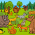 forest animals cartoon illustration stock photo © izakowski