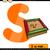 letter s with sandbox cartoon illustration stock photo © izakowski