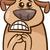 настроение · жестокий · собака · Cartoon · иллюстрация · смешные - Сток-фото © izakowski