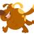 running dog animal character stock photo © izakowski
