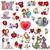valentin · nap · grafikus · elemek · ajándék · kártya · rózsaszín - stock fotó © izakowski