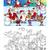 グリーティングカード · サンタクロース · 雪だるま · エルフ · 幸せ · 休日 - ストックフォト © izakowski