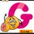 alfabeto · toranja · ilustração · crianças · criança · fruto - foto stock © izakowski