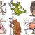 面白い · 家畜 · ペット · ベクトル · 漫画 · 孤立した - ストックフォト © izakowski