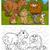 hadas · escena · establecer · ilustración · forestales · diseno - foto stock © izakowski