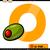 letter o with olive cartoon illustration stock photo © izakowski