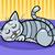 寝 · 猫 · 漫画 · 実例 · 面白い · グラフィック - ストックフォト © izakowski