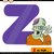 letter z for zombie cartoon illustration stock photo © izakowski