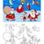 pagina · cartoon · illustratie · groep · christmas - stockfoto © izakowski