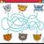 labirinto · quebra-cabeça · tarefa · crianças · desenho · animado · ilustração - foto stock © izakowski
