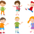 Cartoon · набор · детей · иллюстрация - Сток-фото © izakowski