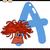 letter a for anemone cartoon illustration stock photo © izakowski