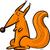 piros · mókus · állat · karakter · rajz · illusztráció - stock fotó © izakowski