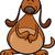 feliz · cachorro · Cartoon · perro · juguete · animales - foto stock © izakowski