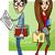 couple · cute · Teen · heureux · timide - photo stock © izakowski