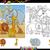 african animals coloring page set stock photo © izakowski