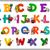 образовательный · Cartoon · алфавит · дети · иллюстрация · письма - Сток-фото © izakowski