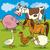 cartoon farm animals group stock photo © izakowski