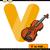 violon · cartoon · illustration · clipart · instrument · de · musique · musique - photo stock © izakowski