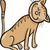 коричневый · котенка · Cartoon · иллюстрация · Cute · кошки - Сток-фото © izakowski