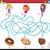 labirinto · quebra-cabeça · jogo · crianças · desenho · animado · ilustração - foto stock © izakowski