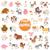 cartoon animal characters large set stock photo © izakowski