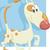смешные · собака · Cartoon · иллюстрация · Cute · животного - Сток-фото © izakowski