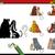 ninos · oscuridad · tarea · perros · Cartoon · ilustración - foto stock © izakowski