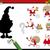 oscuridad · juego · Cartoon · papá · noel · ilustración - foto stock © izakowski