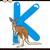 カンガルー · 漫画 · かわいい · ベクトル · ほ乳類 - ストックフォト © izakowski