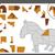Cartoon · caballo · rompecabezas · tarea · ilustración · educativo - foto stock © izakowski